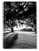 Tranquility Amongst The Oaks Spiral Notebook
