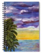 Tranquility At Kapoho Last Sunset Spiral Notebook