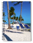Tranquility Bay Beach Paradise Spiral Notebook