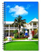 Tranquility Bay West View Spiral Notebook