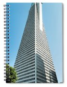 Transamerica Pyramid In San Francisco, California Spiral Notebook