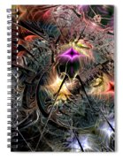 Transcendence In Retrograde Spiral Notebook