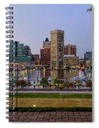 Transformation At Dusk Spiral Notebook