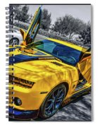Transformers Bumble Bee 2 Spiral Notebook