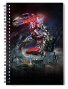 Transformers Dark Of The Moon Spiral Notebook