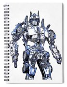 Transformers Optimus Prime Or Orion Pax Graphic  Spiral Notebook