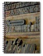 Transient Elements Spiral Notebook