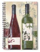 Transitional Wine 1 Spiral Notebook