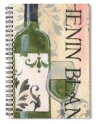 Transitional Wine Chenin Blanc Spiral Notebook