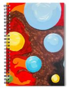 Transitions Time Space And Visions Of November Spiral Notebook