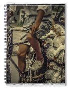 Transport By Bicycle In China Spiral Notebook