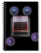 Transport Spiral Notebook