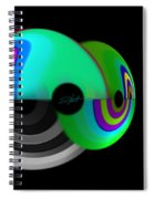 Transport Of Delight Spiral Notebook