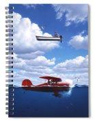 Transportation Spiral Notebook