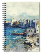 Trapani Art 19 Sicily Spiral Notebook