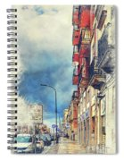 Trapani Art 20 Sicily Spiral Notebook