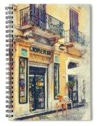 Trapani Art 21 Sicily Spiral Notebook