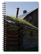 Trappers Cabin Clydesdale Barn Spiral Notebook