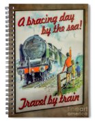 Travel By Train Spiral Notebook