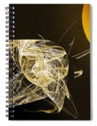 Travel In Time To 1969 Circle The Sun Spiral Notebook