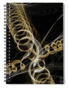 Travel In Time To 1969 Spring Into Space Spiral Notebook