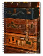 Travel - Old Bags Spiral Notebook