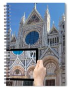 Travel To Siena Concept Spiral Notebook