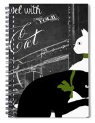 Travel With Your Cat Spiral Notebook