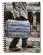 Traveling Man Spiral Notebook