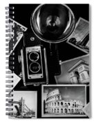 Traveling The World Spiral Notebook