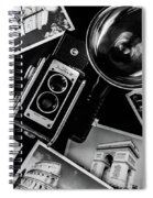 Traveling The World2 Spiral Notebook