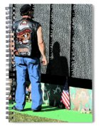 Traveling Wall Spiral Notebook