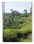 Travelling By Train From Colombo To Badulla Spiral Notebook