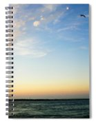 Travels At Sunset Spiral Notebook