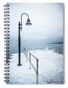 Traverse City Michigan Scenery Around On Lake Michigan Spiral Notebook