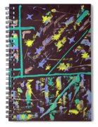 Trawler And Wharf Spiral Notebook