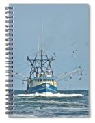 Trawler Homeward Bound Spiral Notebook