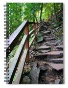 Treacherous Hike Spiral Notebook