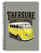 Treasure Hunt Bus Spiral Notebook