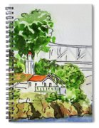 Treasure Island - California Sketchbook Project  Spiral Notebook