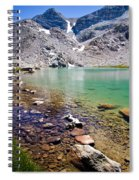Treasure Lake 3 Rocky Shoreline Spiral Notebook