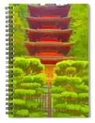 Treasure Tower Spiral Notebook