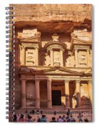 Treasury Of Petra In Color Spiral Notebook