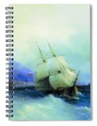 Trebizond From The Sea 1875 61h94 Ivan Konstantinovich Aivazovsky Spiral Notebook