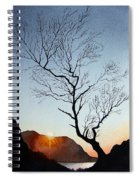 Tree Above Crummock Water Spiral Notebook