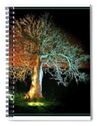 Tree And Moon Spiral Notebook