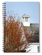 Tree And School House 795 Spiral Notebook