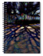 Tree And Shadow Spiral Notebook