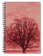 Tree Art 01 Spiral Notebook