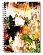Tree Bark 1 Abstract Spiral Notebook